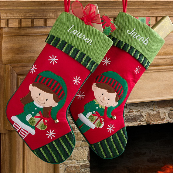Hanging Christmas Stockings for Holidays_14