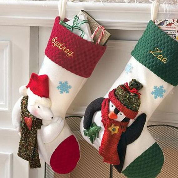 Hanging Christmas Stockings for Holidays_22