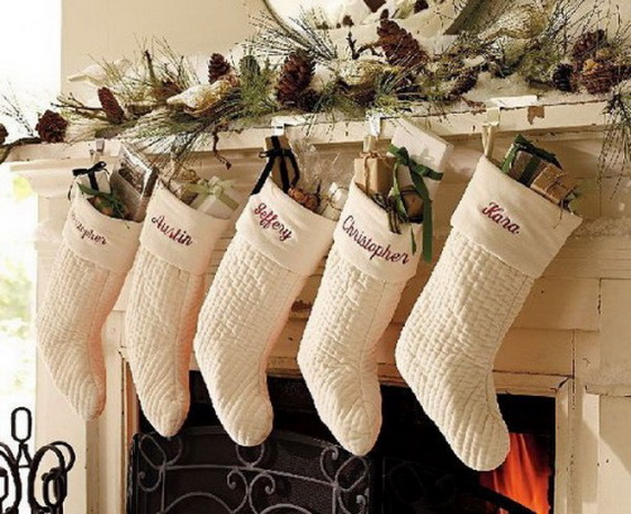 Hanging Christmas Stockings for Holidays_28