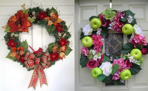 Holiday lodging Wreath and Garland_08