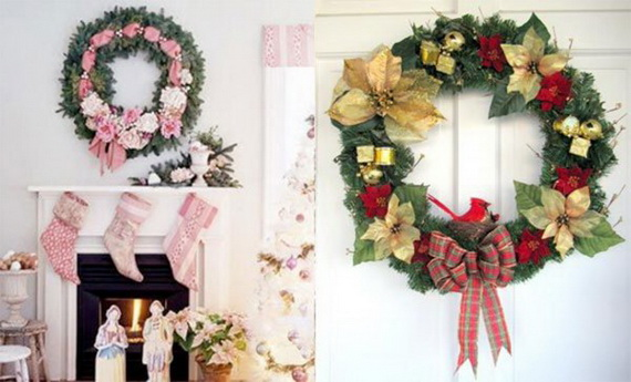 Holiday lodging Wreath and Garland_10