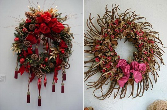 Holiday lodging Wreath and Garland_12