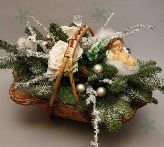 Traditional Christmas Gift Basket Idea_17