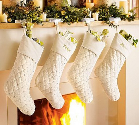 christmas stockings decorating ideas family to