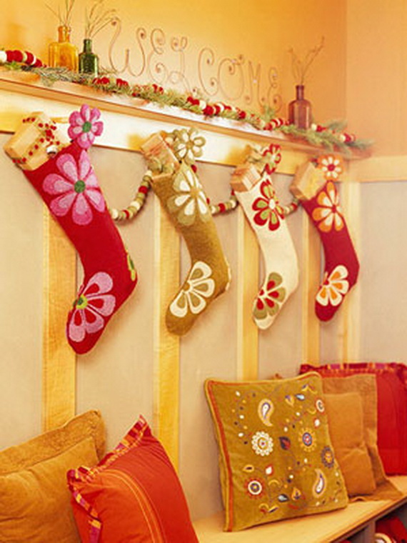 christmas stockings decorating ideas family
