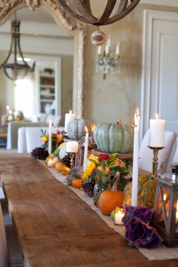Cake Decorations Montgomery Al : Thanksgiving Candle Centerpiece Idea - family holiday.net ...