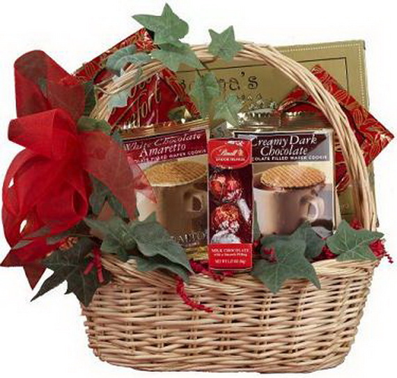 Traditional Christmas Gift Basket Idea - family holiday ...