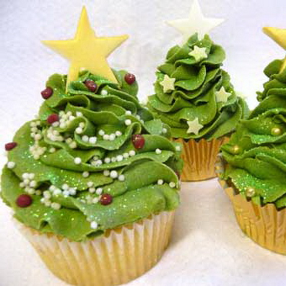 Cupcake Decorating Ideas For The Holidays : Gorgeous Christmas Cupcake Ornaments Decorations for ...