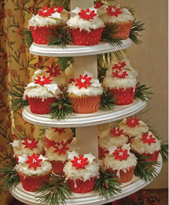 Christmas Cupcake Decorating Ideas Pinterest : Gorgeous Christmas Cupcake Ornaments Decorations for ...