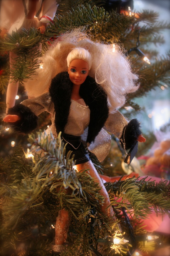 A Holiday Barbie Themed Christmas Tree_22