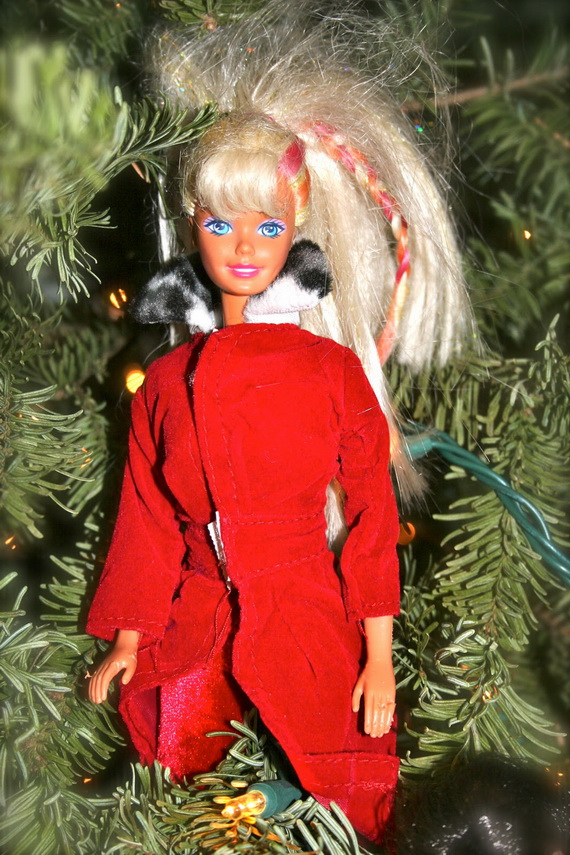 A Holiday Barbie Themed Christmas Tree_27