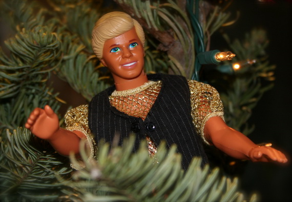 A Holiday Barbie Themed Christmas Tree_31