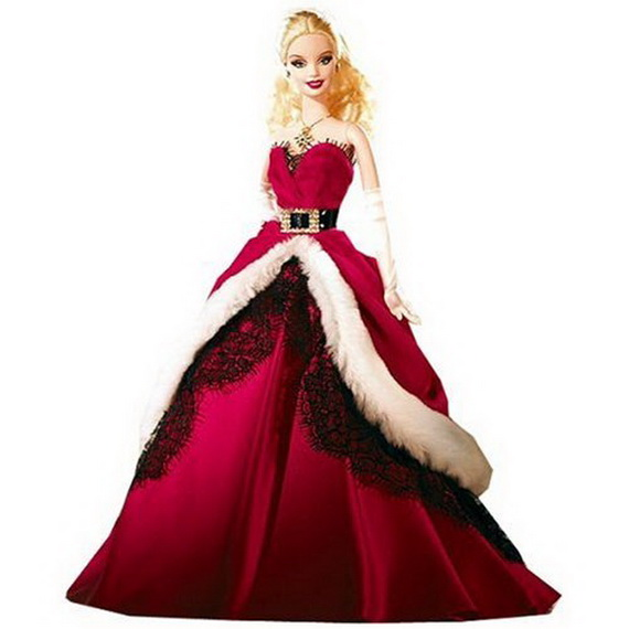 Barbie Christmas Holiday Ornaments 2014 Family Holiday