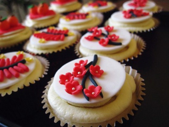 Chinese New Year Cupcakes For The Holiday Family Holiday