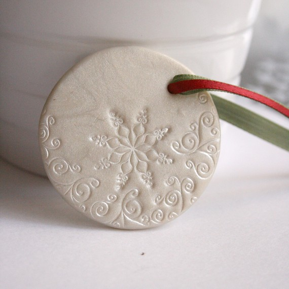 Christmas Decorations Made From Clay : Handmade polymer clay christmas ornament crafts for