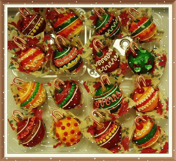 Gorgeous Christmas Cupcake Ornaments Decorations for Holidays _10