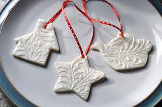 Handmade Polymer clay Christmas Ornament Crafts for Holidays _08
