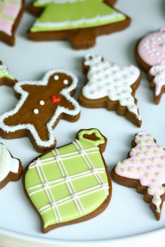 Iced, Decorated, and Shaped Cookies for Holidays_07