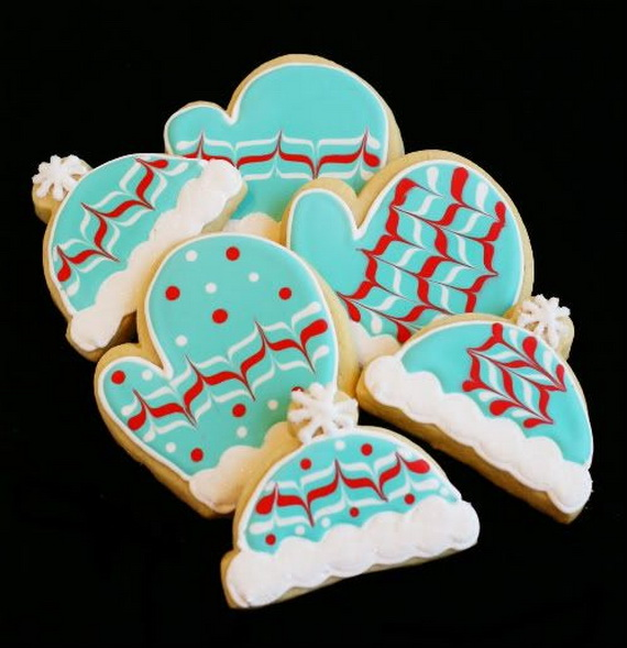 Iced, Decorated, and Shaped Cookies for Holidays_18
