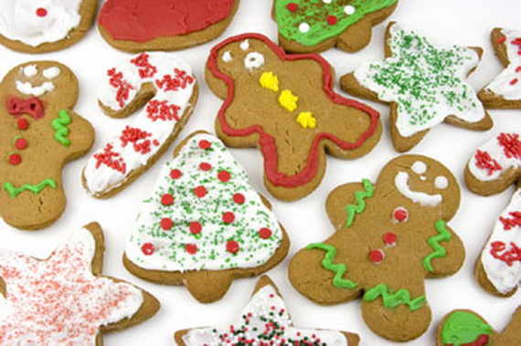 Iced, Decorated, and Shaped Cookies for Holidays_27