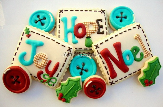 Iced, Decorated, and Shaped Cookies for Holidays_32