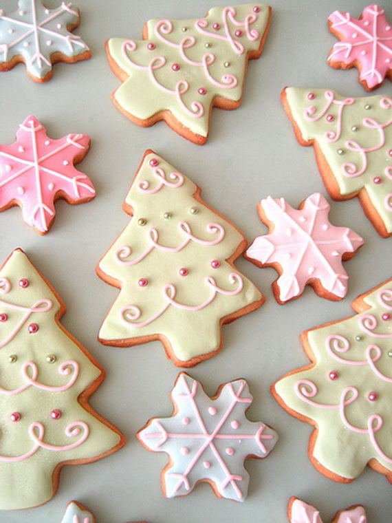 Iced, Decorated, and Shaped Cookies for Holidays_37