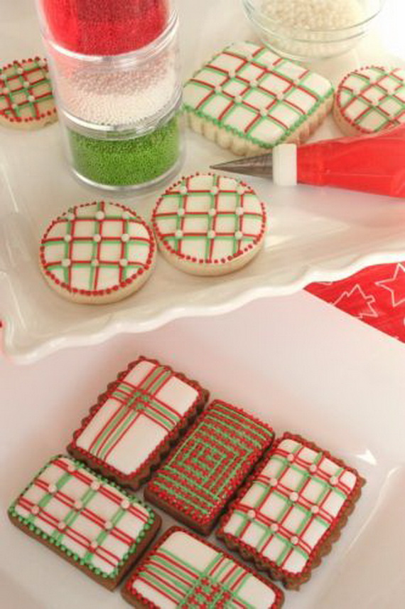 Iced, Decorated, and Shaped Cookies for Holidays_42