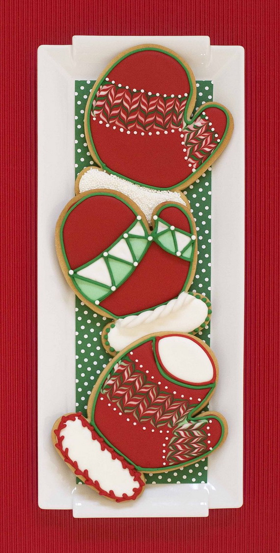 Iced, Decorated, and Shaped Cookies for Holidays_44