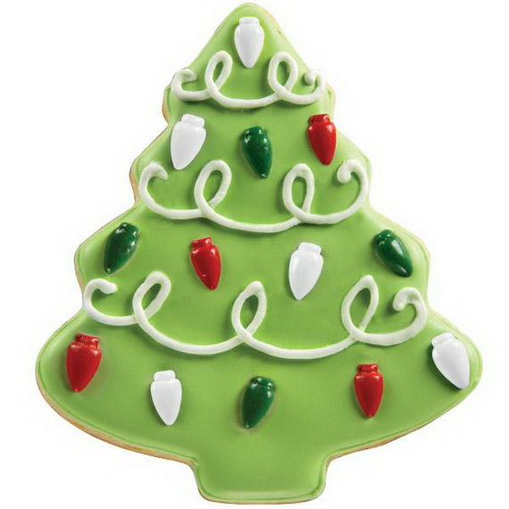 Iced, Decorated, and Shaped Cookies for Holidays_53