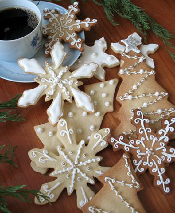 Iced, Decorated, and Shaped Cookies for Holidays_65
