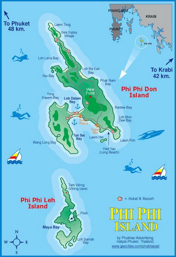 Phi Phi Island Holiday Thailand Family Holiday Net