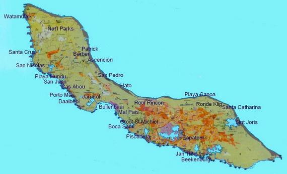 Dutch Caribbean Island Paradise on the ABC Islands Curacao