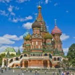 St. Basil s Cathedral on Red Square, Moscow, Russia