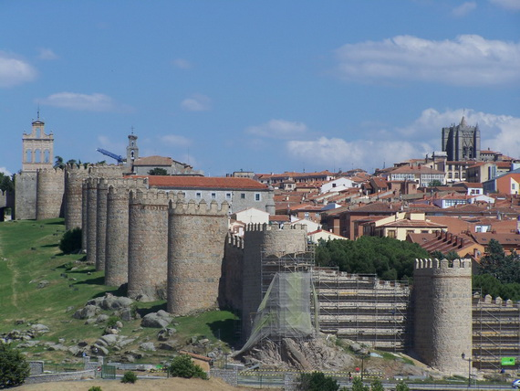 Avila Spain S Magnificent Walled City Family Holiday