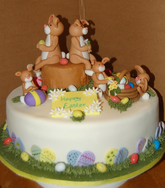 Or Symbolize Easter In Many Countries Easter S Cakes Are One The Main