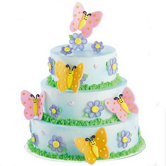 Wilton Butterfly Cake Decorating Ideas : Cool and creative Easter Holiday Cake Ideas