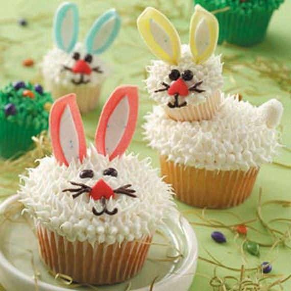 Cupcake Decorating Ideas Recipes : Easter and Spring Cupcake Decorating Ideas - family ...