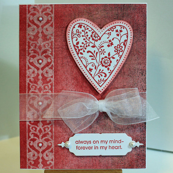 Unique valentines day card ideas family for Creative valentine day cards