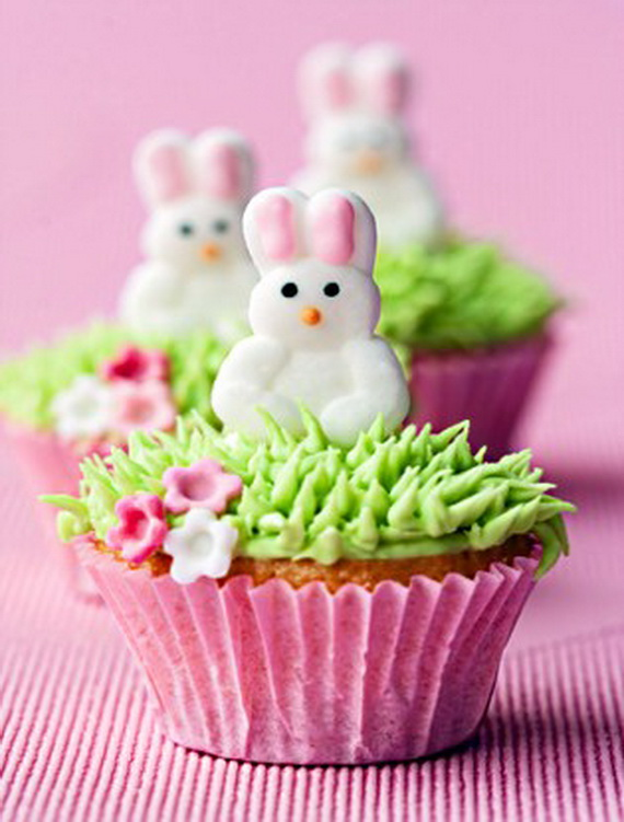 Cake Decorating Ideas For Easter : Easter Bunny Cupcake & Cake Decorating Ideas - family ...