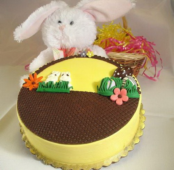 Easter Basket Cake Decorating Ideas : Easter Bunny Cupcake & Cake Decorating Ideas - family ...