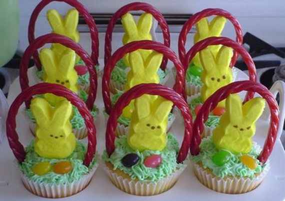 Easter bunny cupcake cake decorating ideas family holiday related posts easy easter negle Images