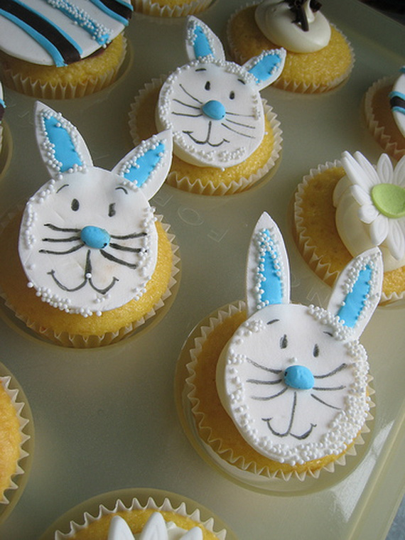 Easter Bunny Cupcake & Cake Decorating Ideas - family holiday.net ...