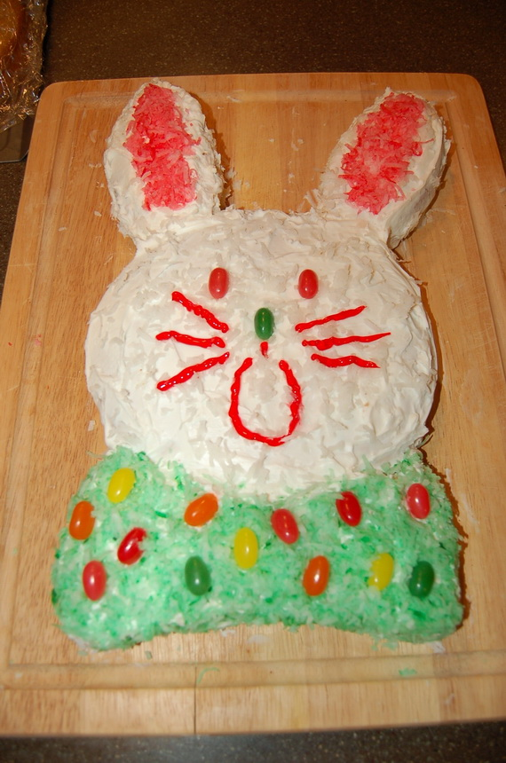 Ideas for decorating a bunny cake