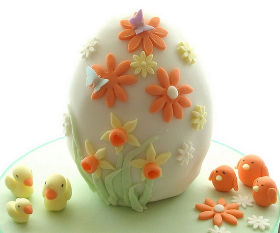 Easter Cake Decor Ideas : Cute Easter Cake and Cupcake Decorating Ideas - family ...