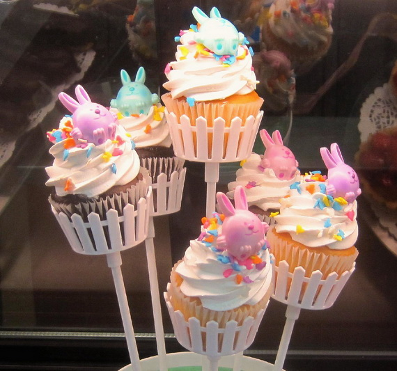Cute easter cake and cupcake decorating ideas family for Fun and easy cupcake decorating ideas