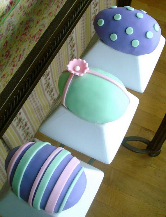 Cute Decorating Ideas For Small Living Rooms: Cute Easter Cake And Cupcake Decorating Ideas