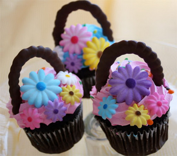 Easter Basket Cake Decorating Ideas : Cute Easter Cake and Cupcake Decorating Ideas - family ...