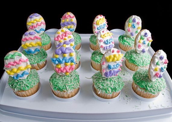 Easy Easter Cupcakes Ideas