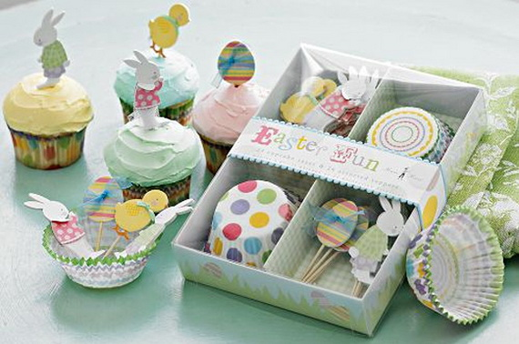 Cake Decorating Ideas Easter : Cute Easter Cake and Cupcake Decorating Ideas - family ...