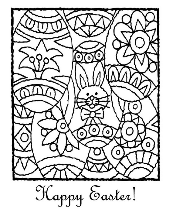 Easter Holiday Coloring Pages For Kids - family holiday ...